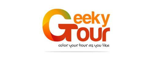 Geeky Tour Logo Design
