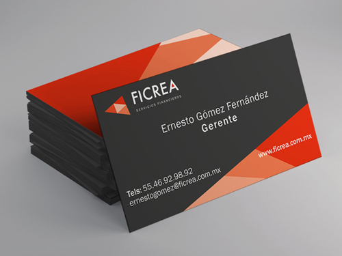 Ficrea Business card