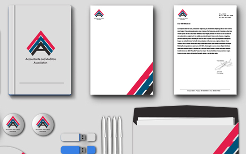 Accountants and Auditors Association Business card