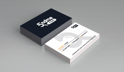 5ndme.com Business card