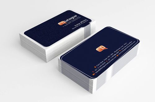 Dialogue Branding Business card