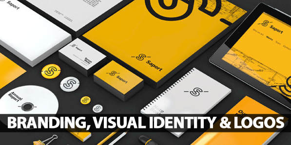 25 Creative Examples Of Branding, Visual Identity and Logo Designs