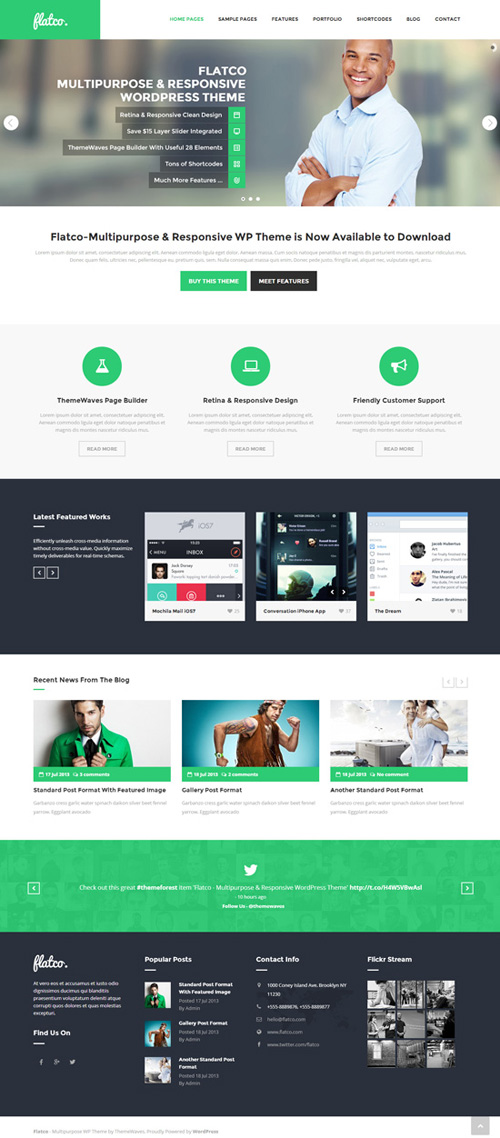 Flatco – Multipurpose & Responsive WordPress Theme