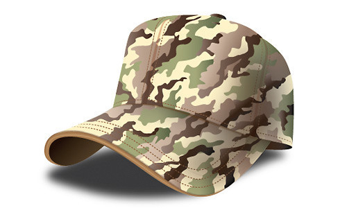 How to Design a Army Cap Illustration in Adobe Illustrator