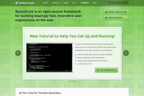 SproutCore - Open-Source Framework for Building HTML5 Apps