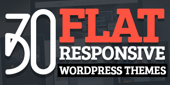 30 Flat UI WordPress Themes