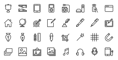 100 Free Flat Vector Icons