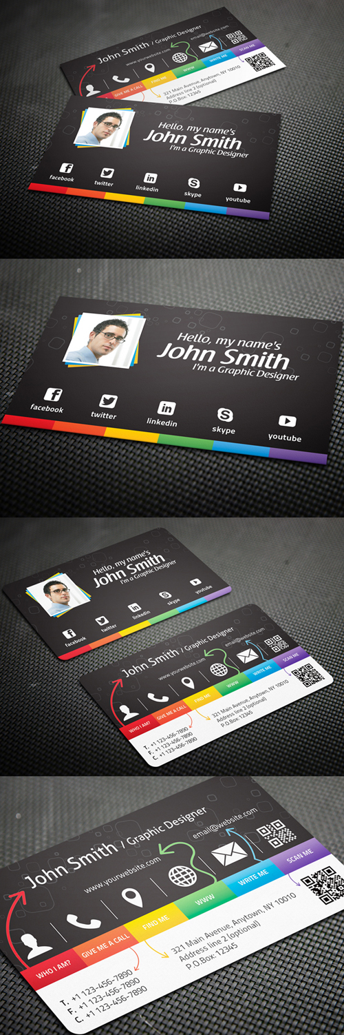 Creative Business Card for Graphic Designers