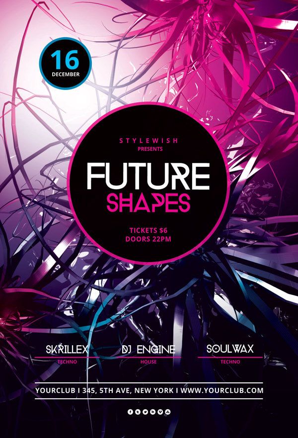 Future Shapes Flyer
