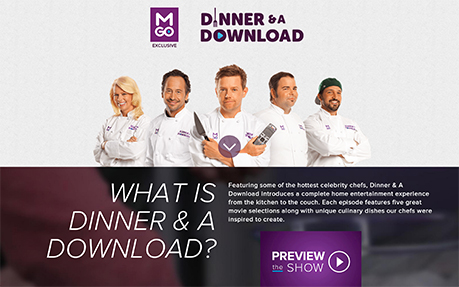 M-Go Dinner and a Download