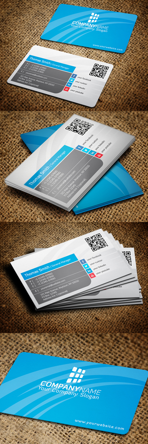 Rounded Corner Business Card