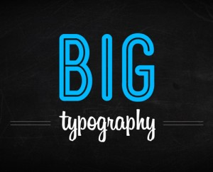 Why Big Typography Used in Web design