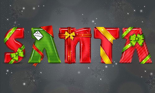 How to Create a Christmas Santa Text Effect in Adobe Illustrator