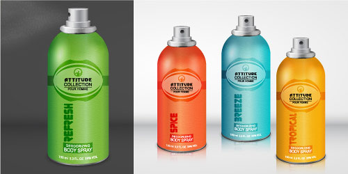 How to Create a Realistic Body Spray in Adobe Illustrator