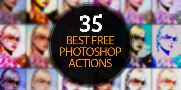 35 of the Best Free Photoshop Actions