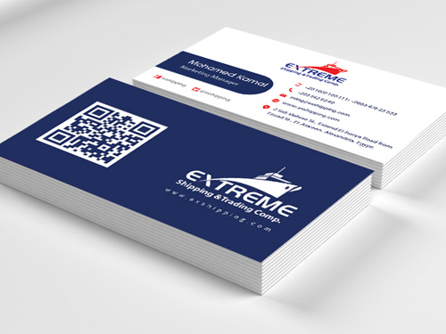 Extreme Shipping Business Card