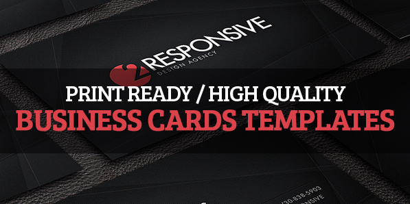12 High Quality Business Cards Templates