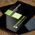 Post Thumbnail of 21 Creative Corporate Business Cards Templates
