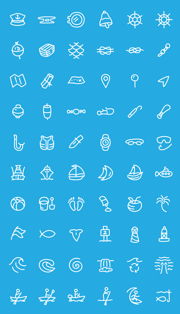 Sketch Style Free Vector Icons Preview 2