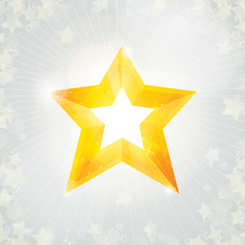 Christmas Star Vector Graphic