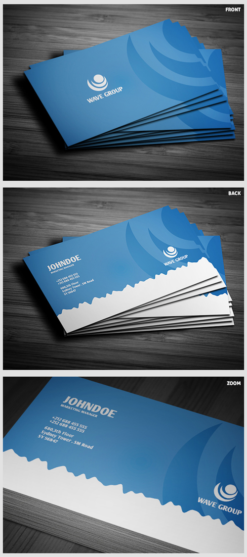 business cards template design - 13