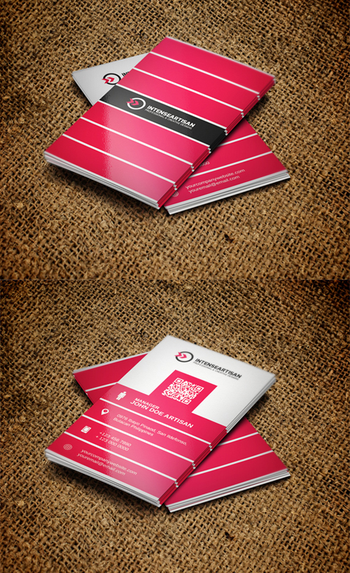 business cards template design - 16