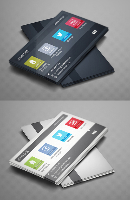 business cards template design - 18