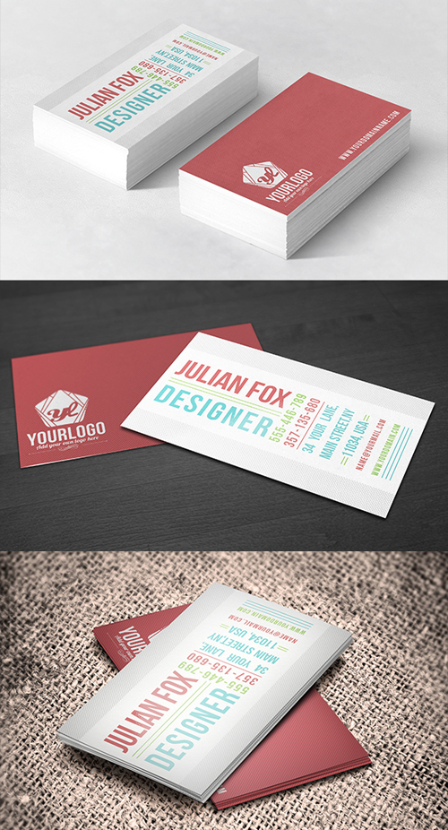 business cards template design - 21