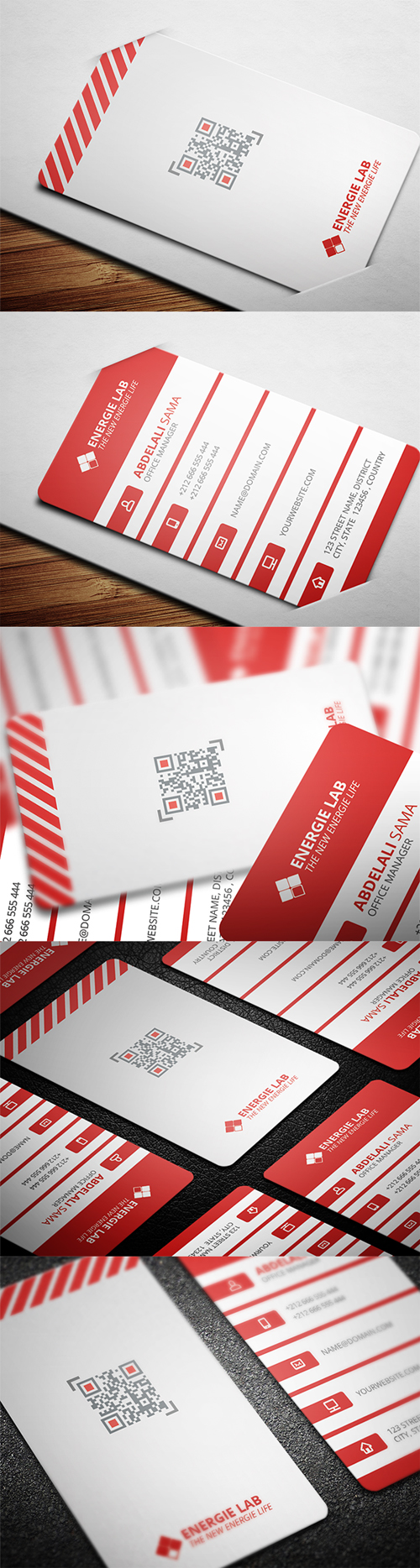 business cards template design - 6