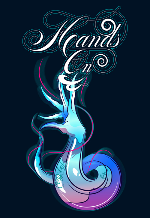 Hands On Lettering Poster