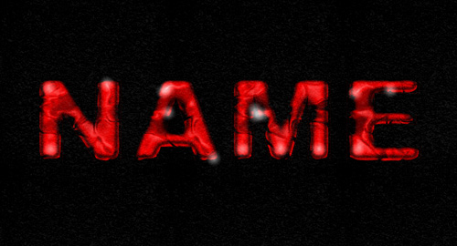 Bloody Guts Text Effect in Photoshop