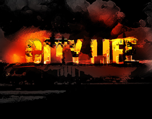 Create Red Hot Metro City Text Effect in Photoshop