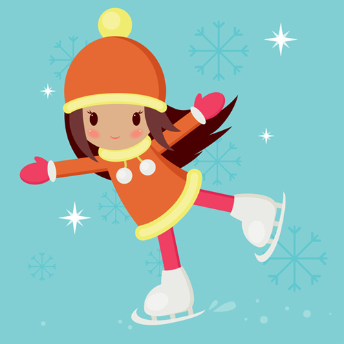 Create a Skating Girl With Basic Shapes in Adobe Illustrator