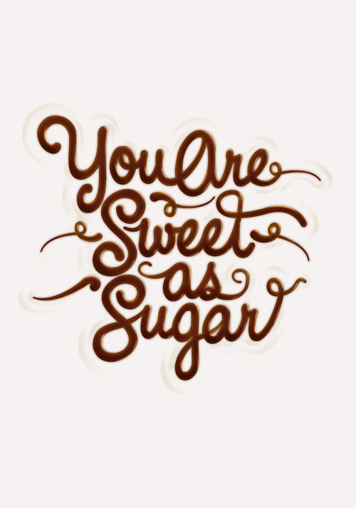 Create Melted Chocolate Type in Adobe Photoshop and Illustrator