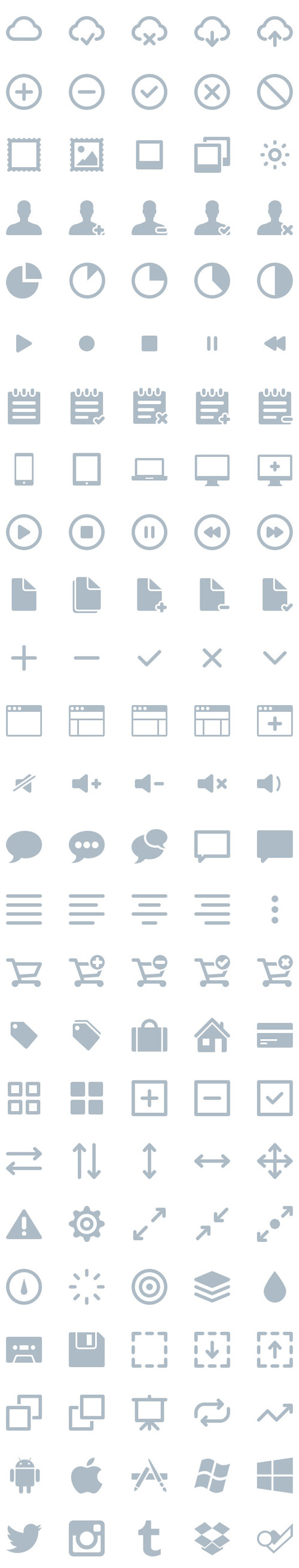 300 Vector Icons