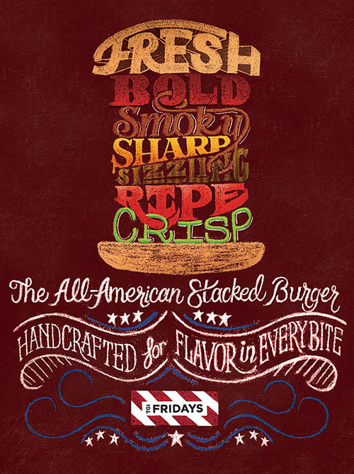 All American Stacked Burger