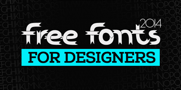 21 Fresh Free Fonts for Designers