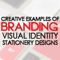 Post Thumbnail of 26 Creative Branding, Visual Identity and Stationery Designs