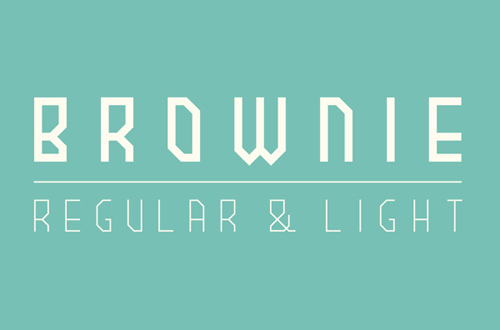 Brownie Font