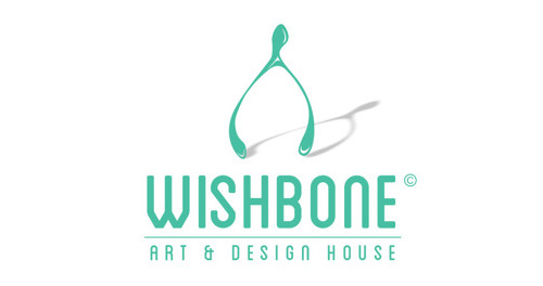 WIISHBONE art and design house brand launch #logo #design