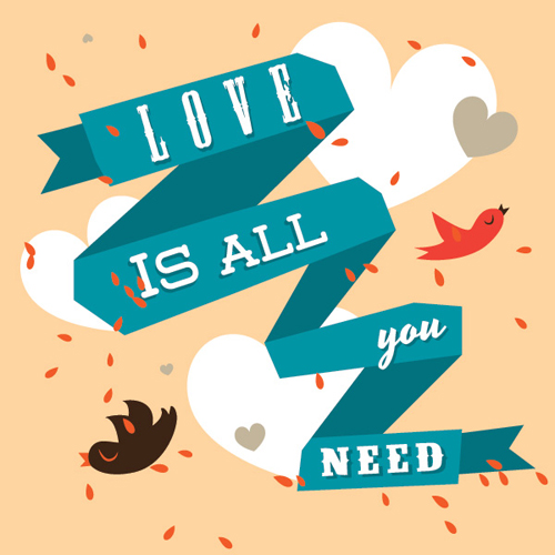 Love Is All You Need Vector Graphic - 27