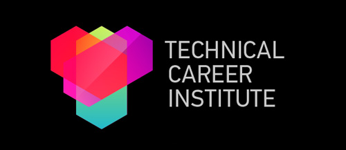 Technical Career Institute #logo #design