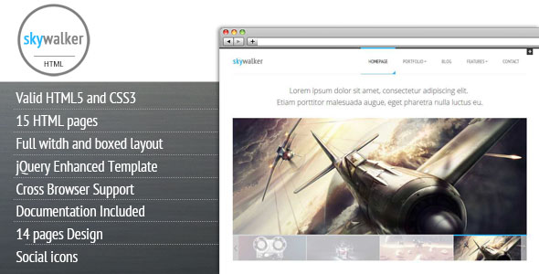 SkyWalker Premium WordPress Theme