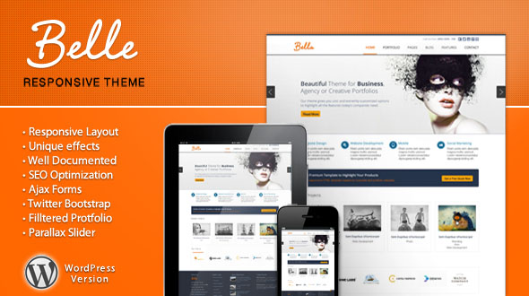 Belle Premium WordPress Theme