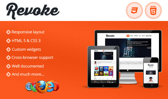 Revoke Premium WordPress Theme