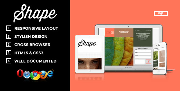 Shape Premium WordPress Theme