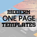 Post Thumbnail of 15 Modern One Page Business Psd Templates