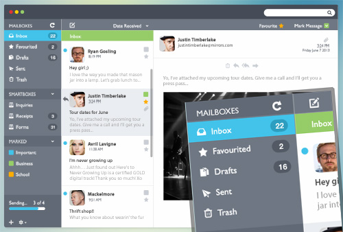 Email PSD Template (fully editable)
