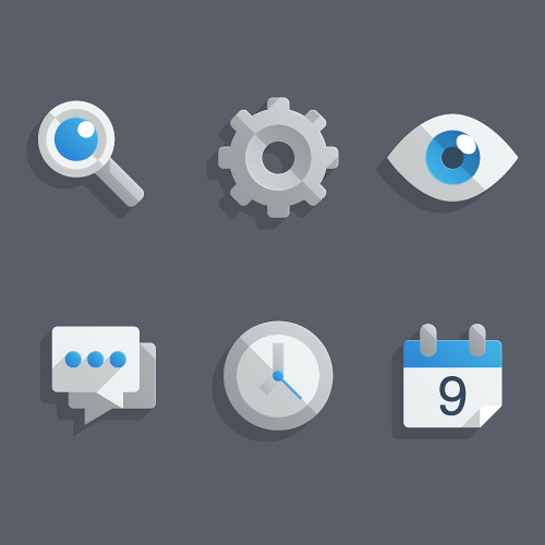 How to Create a Set of Flat Icons in Illustrator