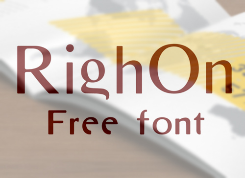 RighOn Free Font